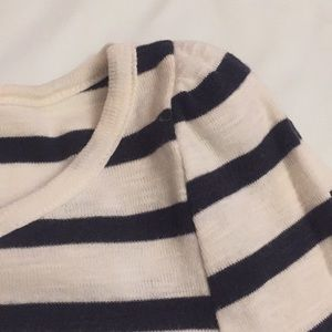French Connection Dresses - French Connection cotton striped dress sz 4